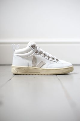 Roraima B-Mesh White Natural Hi-Top Sneakers