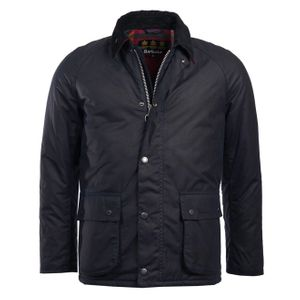 Barbour Strathyre Wax Jacket Royal Navy