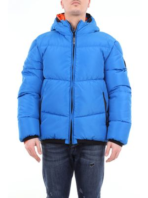 Marshall Artist short down jacket with hood