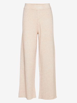 UNITE KNIT TROUSERS | OFF WHITE | JUST FEMALE