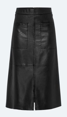 Riani - Leather Skirt with A-Line