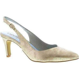 Catherine Gold Sling Back Shoe
