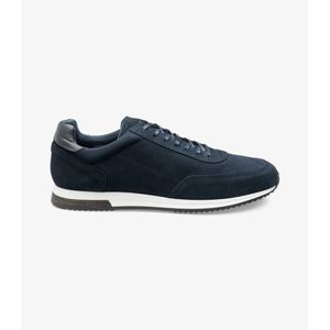 Loake Bannister in Navy Suede