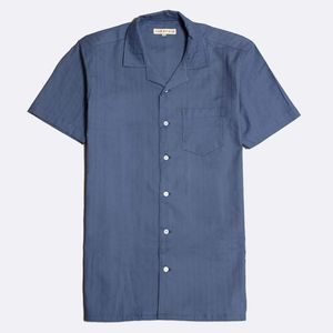 Stachio Textured Stripe Shirt, Blue