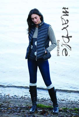 Marble 5469 Gilet Colour 105 Deep Grey