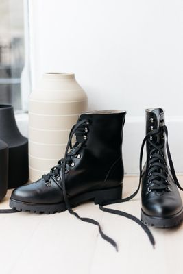 BHAVA • Rally Combat Boots  • Black