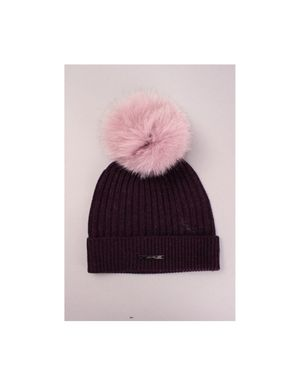 Bklyn Hats Rib Knit HAT ONLY Colour: Mulberry