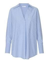 Levete Shirt 100132 in Pool Blue