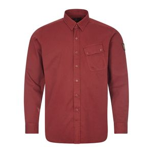 Twill Shirt - Burnished Red