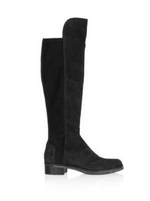 Kennel & Schmenger Blues Over The Knee Long Boots Black Suede