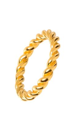 Thunder gold ring