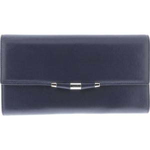Carmen Navy Clutch Bag