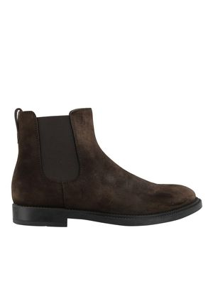 TOD'S SUEDE CHELSEA BOOTS