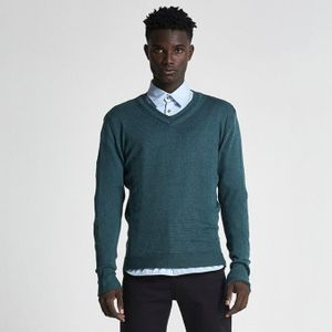 Wool & Mohair V-Neck Sweater (Summer)