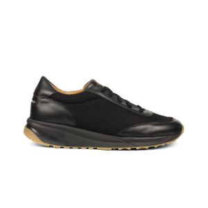 Unseen Footwear Trinity Leather Mesh Black