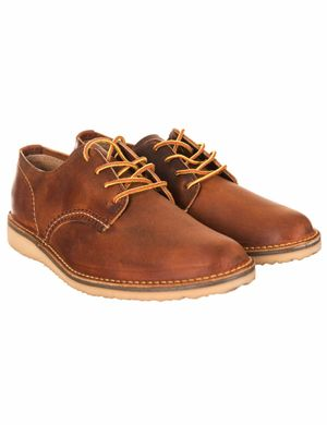Red Wing 3303 Weekender Oxford Shoes - Copper Rough & Tough Colour: Co