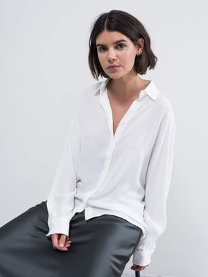 Gia Shirt in White