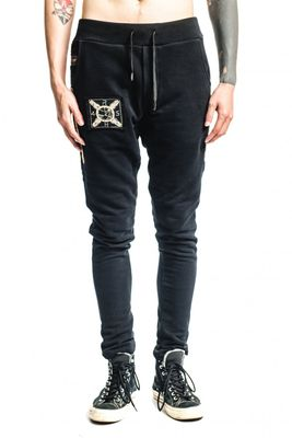 RH45 Bastian Sweatpant Black/Gold Colour: Black/Gold,