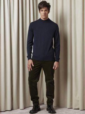 NN07 Martin Knit in Navy Blue