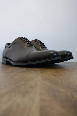 Guildhall Brown Capped Oxford Shoes