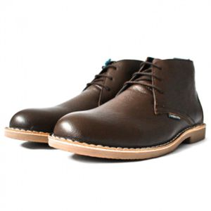 Lambretta Carnaby III Milled Leather Desert Boot - Brown