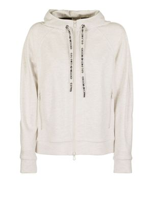 BRUNELLO CUCINELLI WOMEN'S MB982SG516C2430 BEIGE COTTON SWEATSHIRT