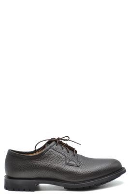 CHURCH'S MEN'S MCBI38385 BROWN LEATHER LACE-UP SHOES