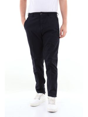 Department 5 solid color chino trousers with america pocket
