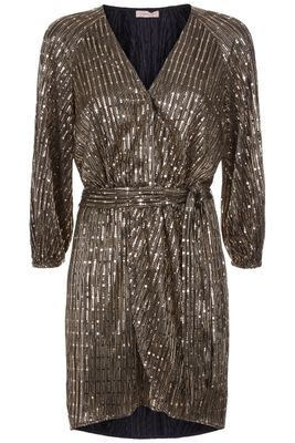 Traffic People Tess Dress - 11997030 Bronze