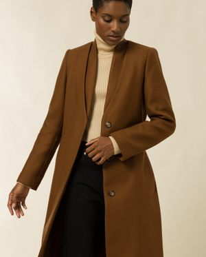 Ivy & Oak Coat With Double Collar