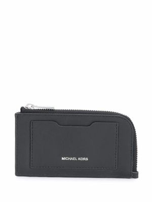 MICHAEL KORS MEN'S 39S0LGFE6L001 BLACK LEATHER WALLET