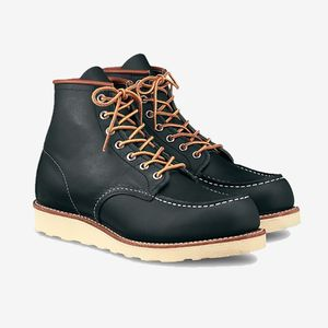 Red Wing Moc Toe Navy Portage