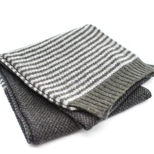 Ryan James Fruin Lambswool Scarf Acorn