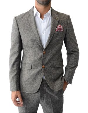 Gibson Donegal Tailored Jacket Colour: Taupe