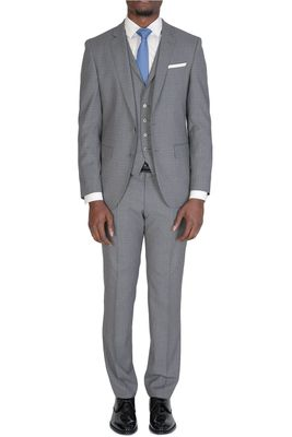 Hugo Boss Hutson5/Gander2 Slim Fit Suit Grey