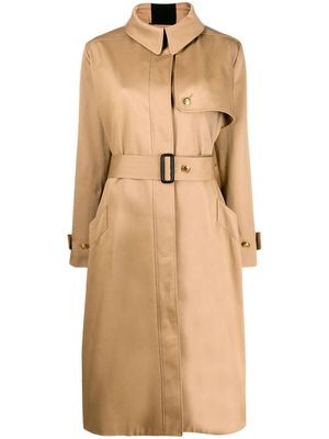 GIVENCHY WOMEN'S BW008111UD250 BEIGE COTTON TRENCH COAT