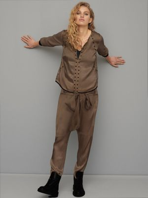 Nu Denmark Emi Blouse- brown sugar- 653156