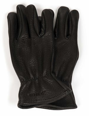 Red Wing 95236 Buckskin Unlined Gloves - Black
