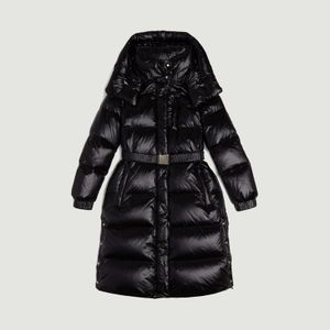 Long Aliquippa Down Jacket BLACK Woolrich