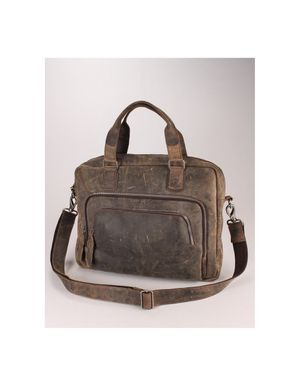 Souled Out Leather Casual Bag Colour: Brown