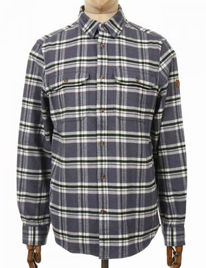 Fjallraven Ovik Heavy Flannel Shirt - Dusk Size: Small, Colour: Dusk