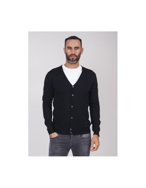 Sseinse AW19 Button Cardigan Colour: Dark Navy