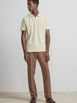 NN07 Paul Polo Shirt in Vanilla