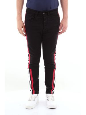 Gaelle slim jeans with 5 pockets side bands