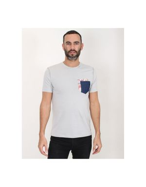 Sseinse Double Pocket T-Shirt Colour: Grey
