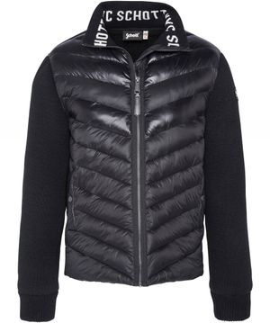 Schott Quilted Body Robson20 Jacket Colour: Black