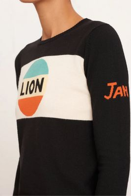 Bella Freud Lion Stripe Merino Wool Jumper