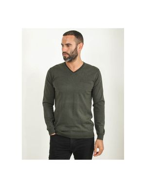 Sseinse Hidden Pocket Knitwear Colour: Military