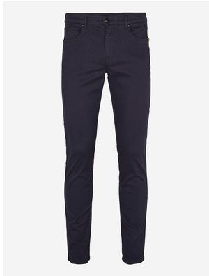 Burton Suede Touch Trousers in French Blue