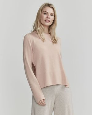 Holebrook Faith Side Split Knitted Crew Neck